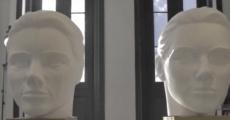 Escultura de antes e depois mostra eficiência de cosmético